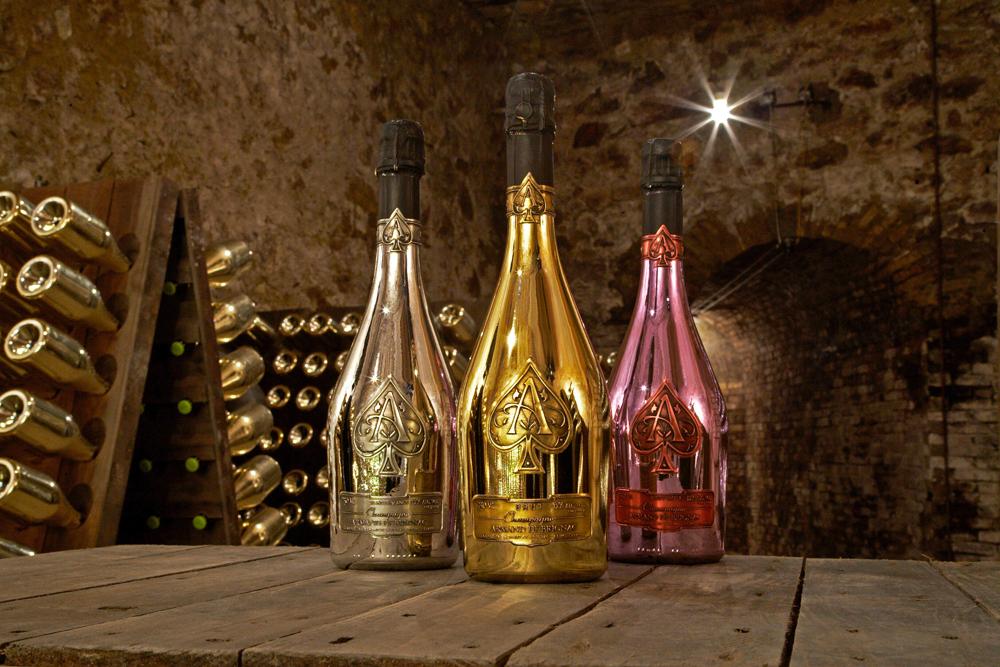 Armand de Brignac – Brut Gold, Blanc De Blancs, Rosé