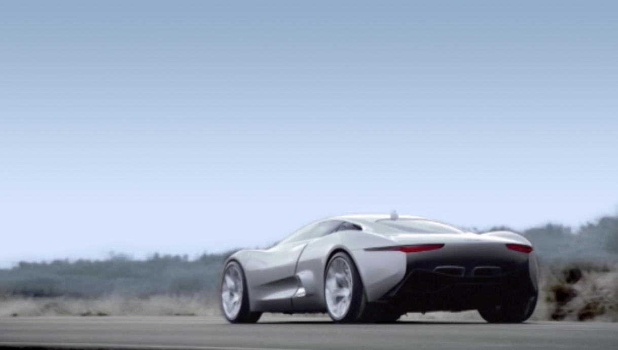 Jaguar – C-X75 – Launch
