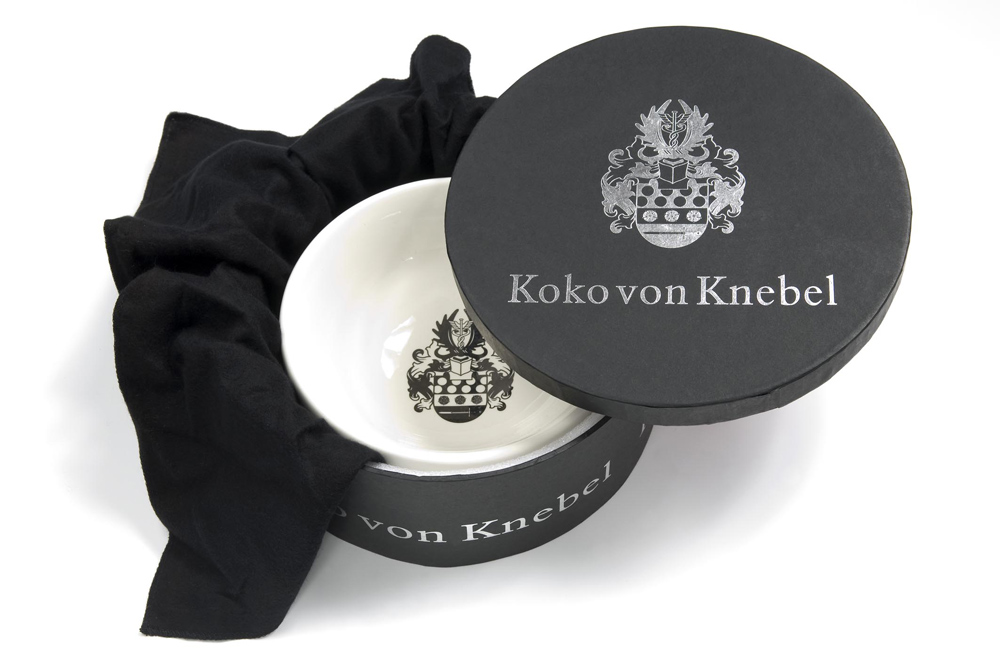 Koko von Knebel – Crest Bowl With Sterling