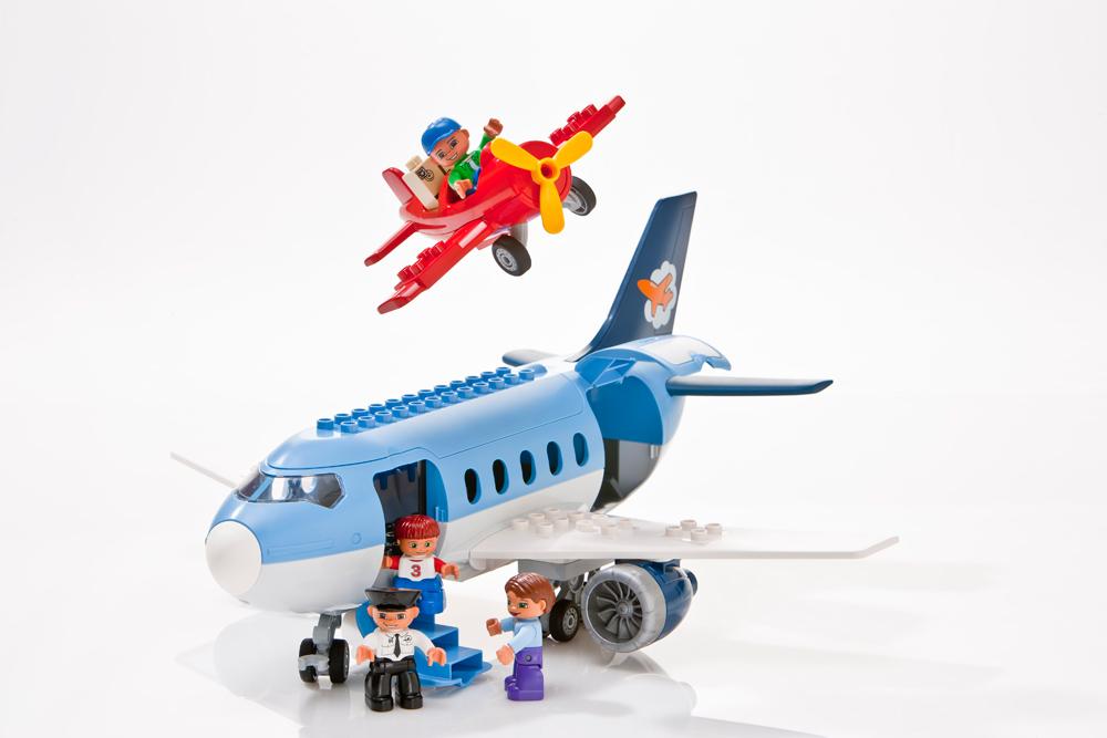 LEGO DUPLO – Flughafen und Propellerflugzeug