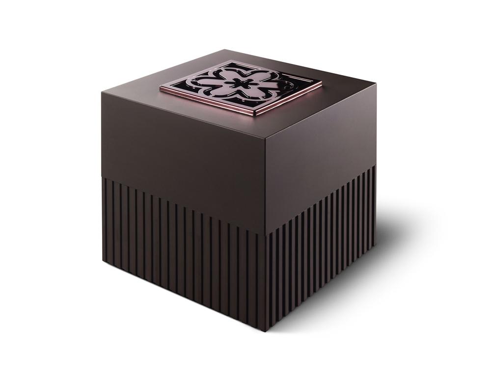LAMPE BERGER – Cube marron