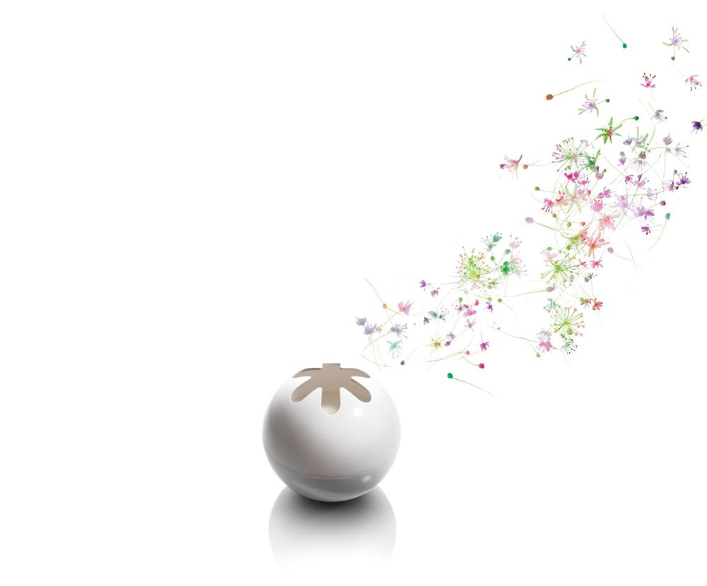 LAMPE BERGER – Sphère blanche