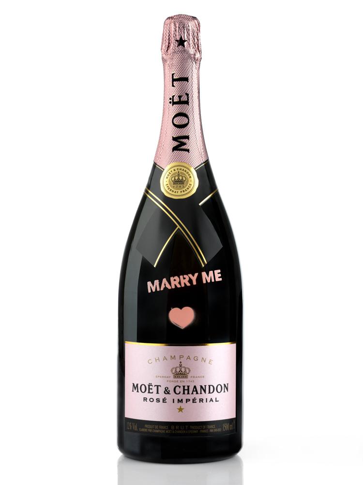 MOËT & CHANDON – Valentinstag Magnum