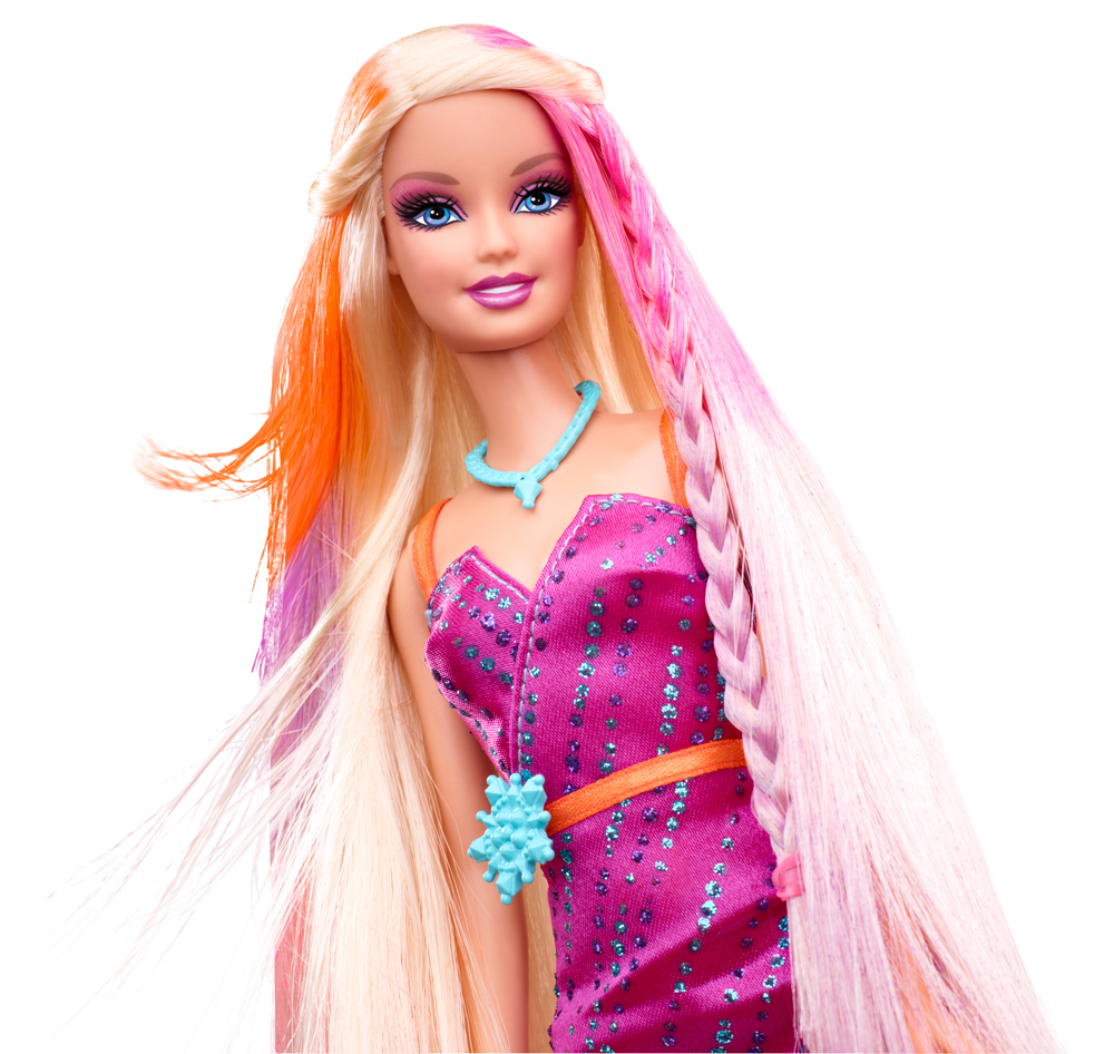 MATTEL – Farbstyling-Haarsalon Barbie