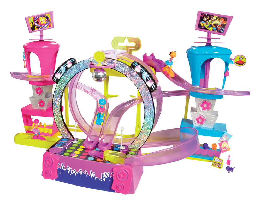 MATTEL – Polly Pocket Rock -&-Skate Park