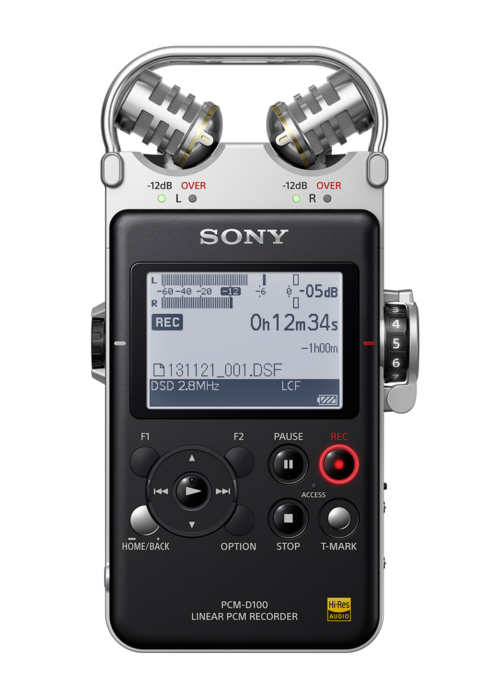 SONY – Highend-Recorder PCM-D100