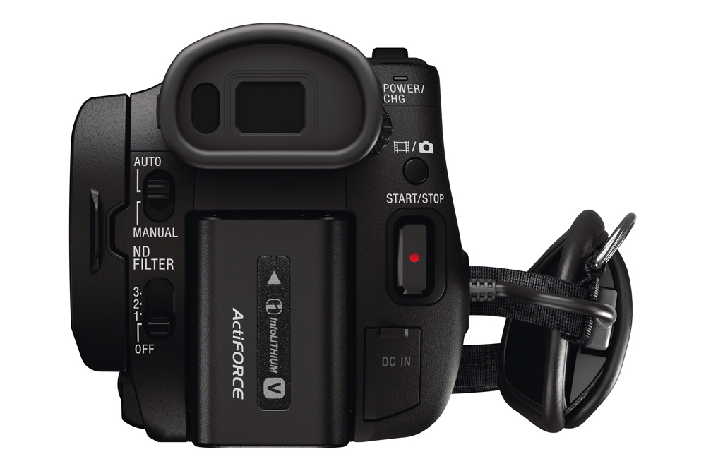 SONY – FDR-AX100E 4K Camcorder
