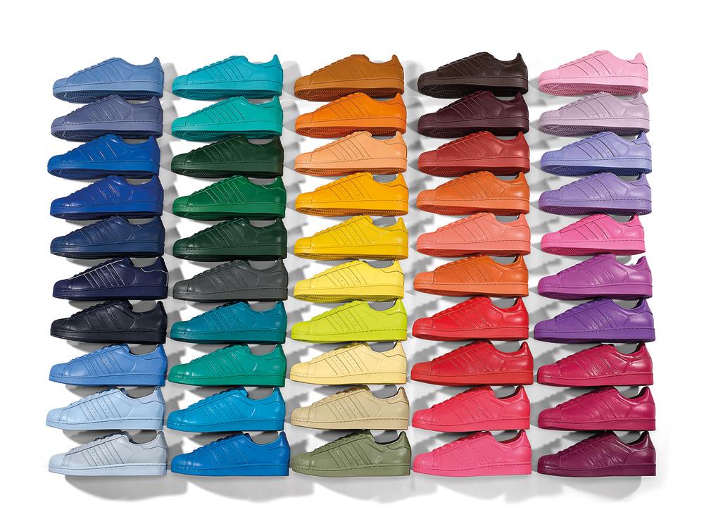 adidas superstar einfarbig