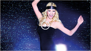 Making-Of-Video Franziska Knuppe in Party-Dessous von Triumph