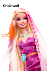 MATTEL, Farbstyling-Haarsalon Barbie