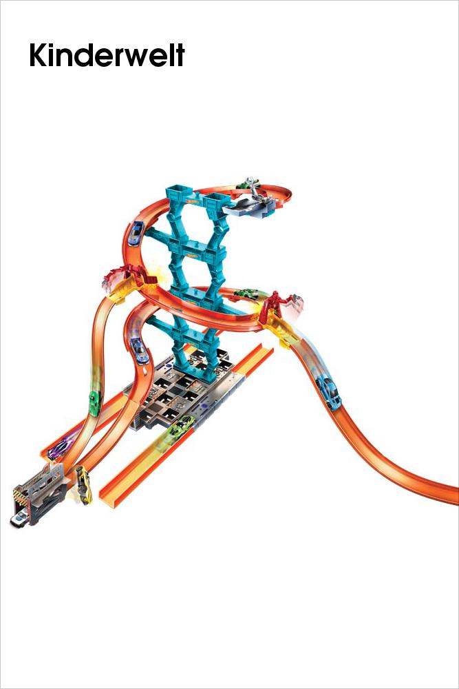 MATTEL – Super-Stuntbahn Starter Set
