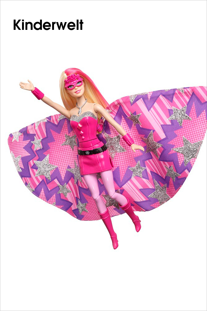 MATTEL – Barbie Superheldin